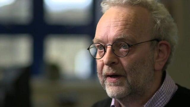 """Professor Graham Medley told Newsnight that the viral bug will be with us """"for a long time"""".(BBC)"""