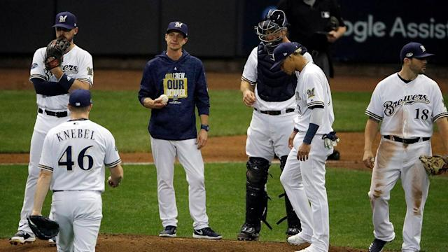 The strength of the Brewers \- their bullpen - is in some serious turmoil at the moment, with several top arms injured and facing uncertain futures.