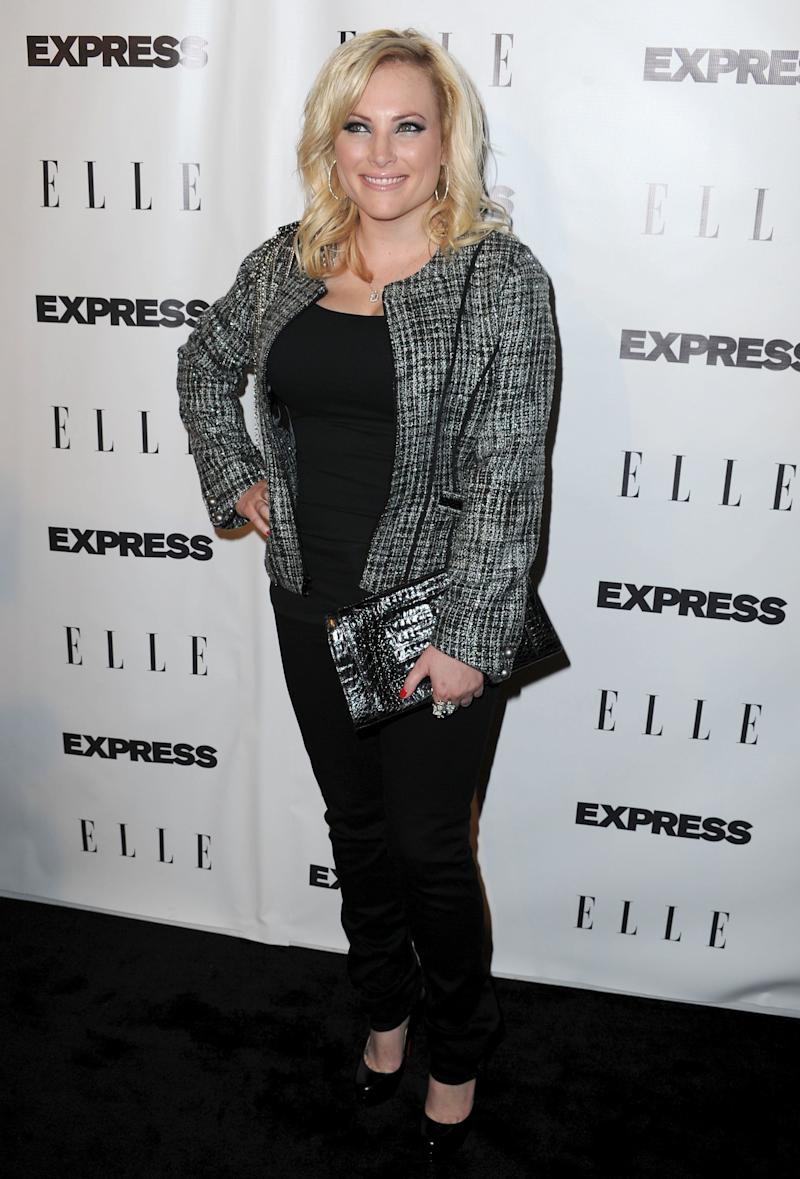 WEST HOLLYWOOD, CA - OCTOBER 07: Activist Meghan McCain arrives to the ELLE And Express '25 At 25' Event held at Palihouse Holloway on October 7, 2010 in West Hollywood, California. (Photo by Frazer Harrison/Getty Images)