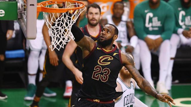 Cleveland Cavaliers forward LeBron James was named to his 12th All-NBA First Team on Thursday, breaking the record for most selections.