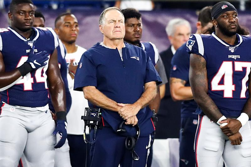 Bill Belichick and the New England Patriots have owned the AFC East for almost two decades. (Getty Images)