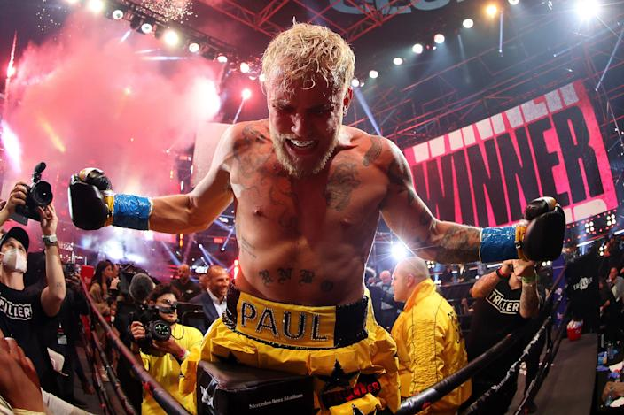 <p>Jake Paul has claimed both fighters would earn $50m from the event</p> (Getty Images for Triller)