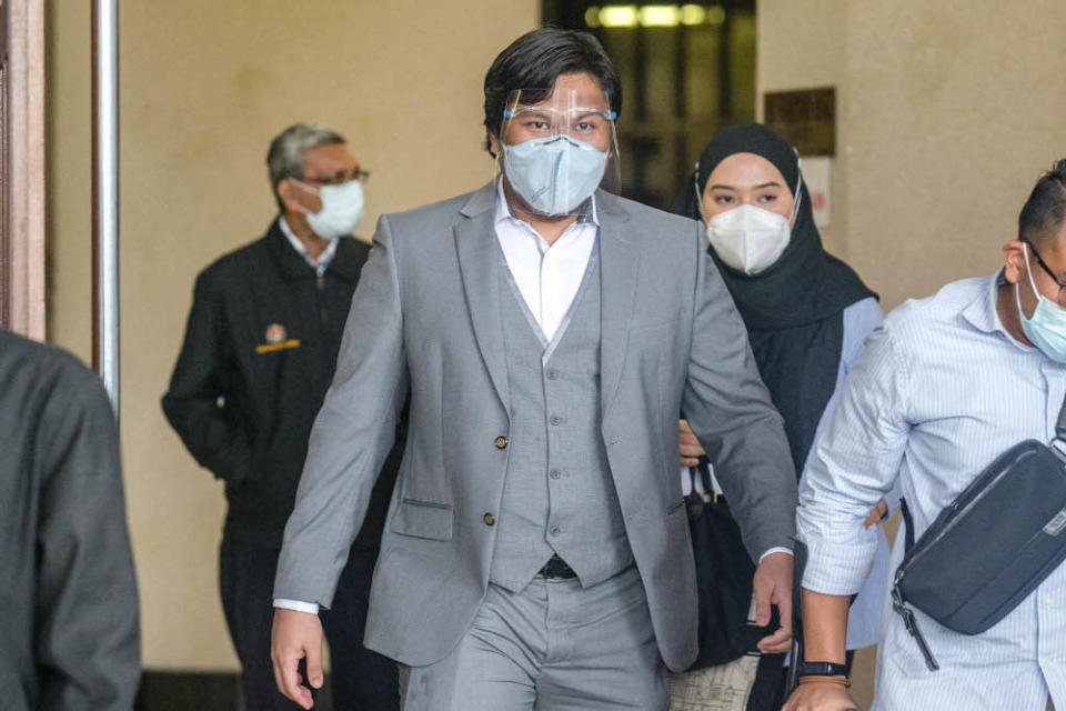 Dr Mohd Shahir Anuar is pictured at the Kuala Lumpur Court Complex August 25, 2021. —Picture by Firdaus Latif
