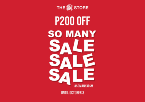 online sales october - the sm store online sale