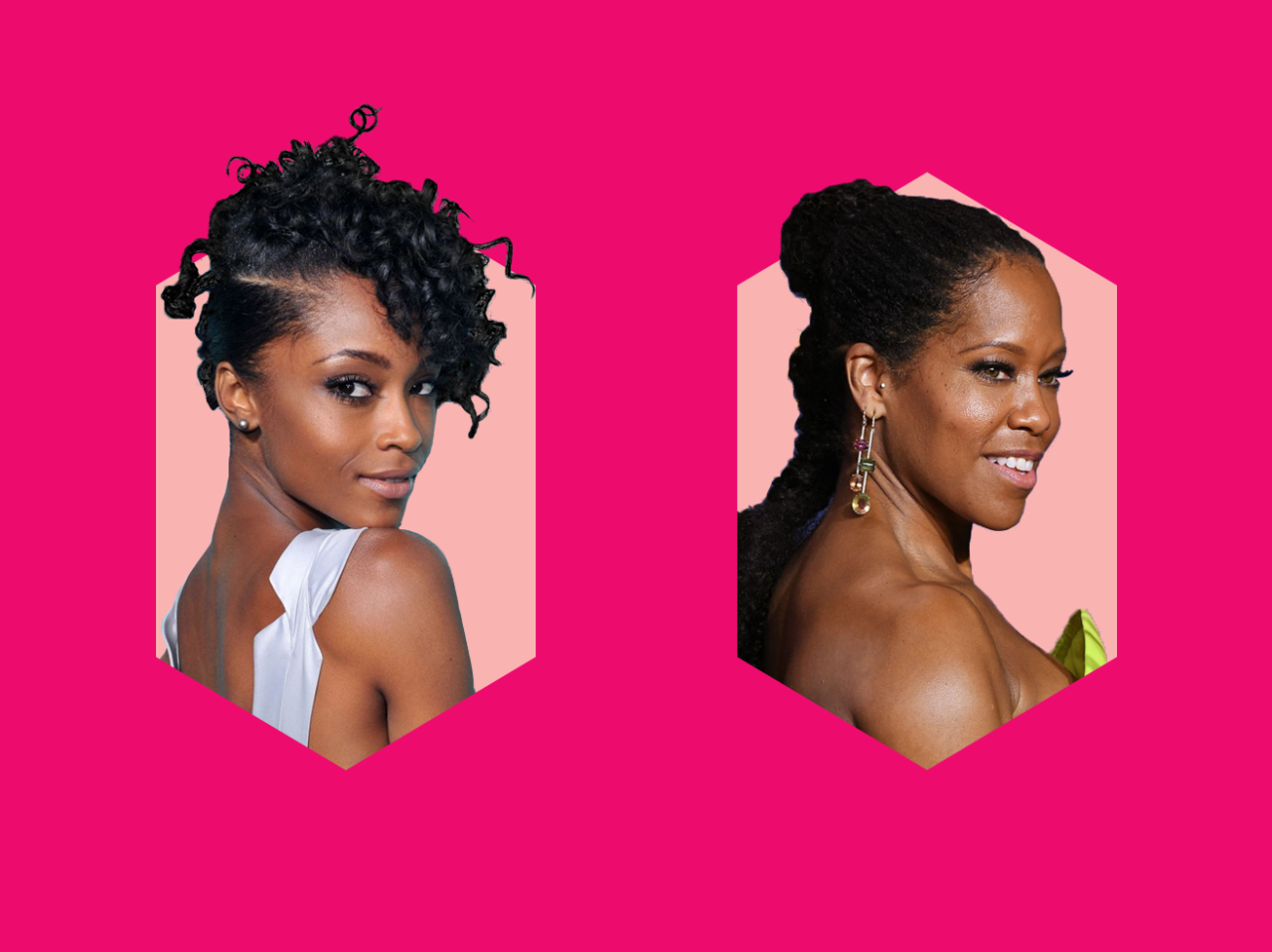 <p>Next time you're stuck trying to think up new ideas for your natural hair, try one of these breathtaking looks.</p>