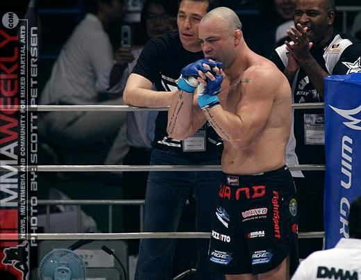Wanderlei Silva faces a big fight outside of the ring. (MMA Weekly)