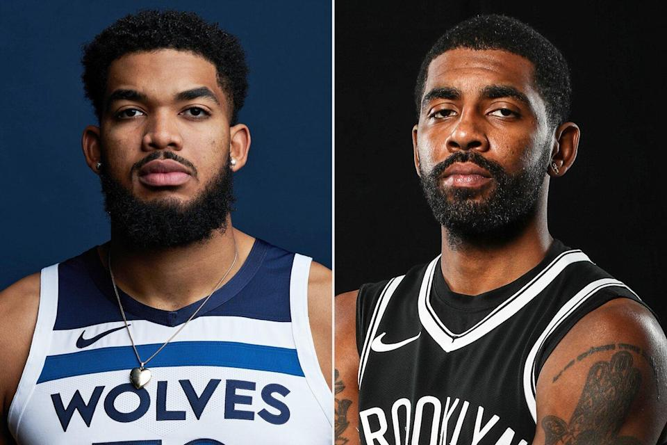 Karl-Anthony Towns - Kyrie Irving