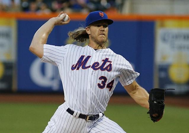 Syndergaard lowers boom on Indians over social media
