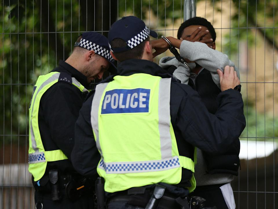 <p>Campaigners say racial disparity in relation to drug offences is wider than sentencing (File photo)</p> (PA)