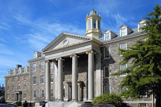 The  main campus building of the University of King's College in Halifax. (University of King's College Archives - image credit)
