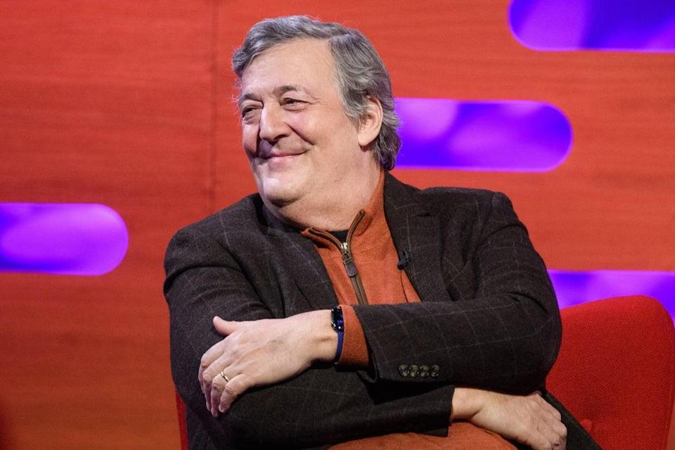 Stephen Fry has voiced support for the Extinction Rebellion protests (BBC/PA) (PA Archive)