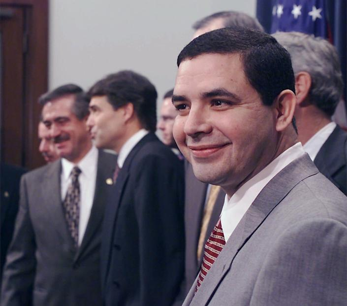 Henry Cuellar served as Texas secretary of state in 2001 during Gov. Rick Perry's tenure.
