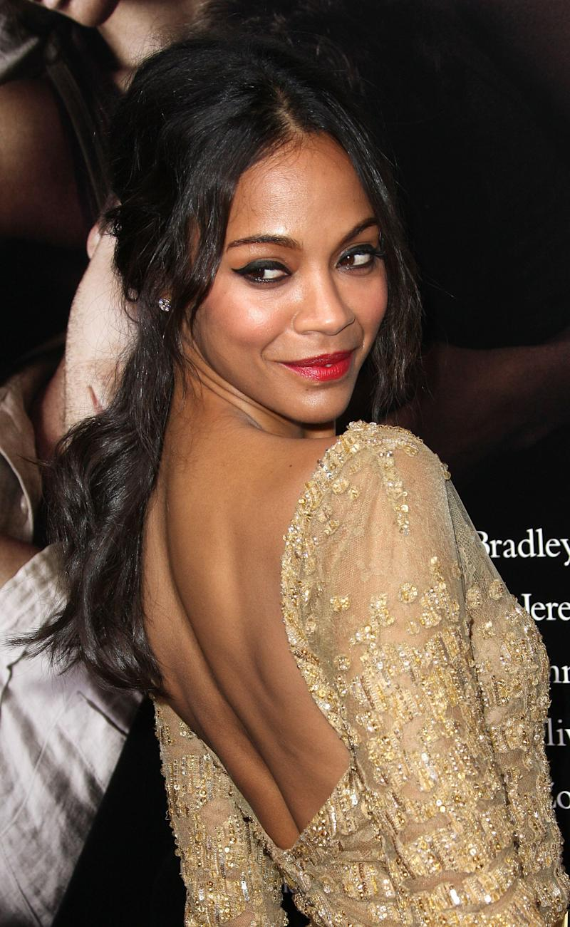 """""""I like missionary and I like being on my knees too,"""" <a href=""""http://www.marieclaire.co.uk/news/celebrity/536025/gwyneth-paltrow-and-zoe-saldana-talk-favourite-sex-positions.html#index=1"""">Saldana told Marie Claire</a>. """"And I love being on top ... I love doggy-style or standing up."""""""