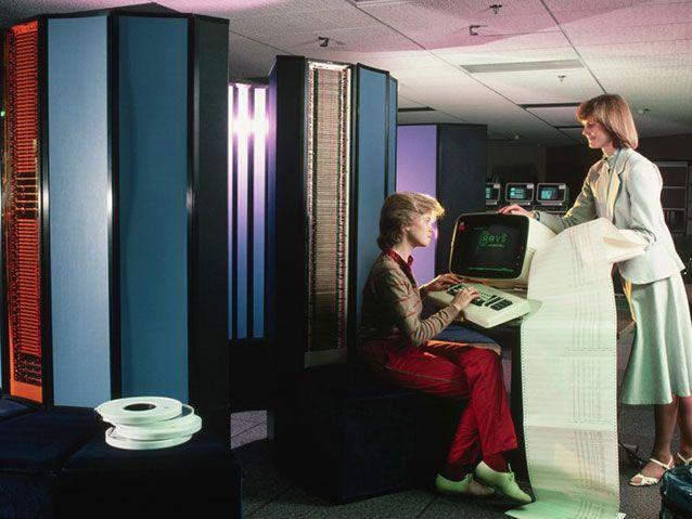 Sisters were doing it for themselves, then things changed in the mid-1980s. Source: Cray Computer ad c. 1983
