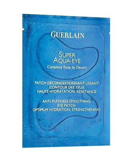 <p>OK, so the <span>Guerlain Super Aqua-Eye Patches</span> ($130) might not be the most cost-effective option out there. But I blew last year's tax return on a single pack of these, and I have no regrets. What makes this luxe option <em>so</em> worth the splurge is the fact that the results last the longest. The desert rose flower complex-infused formula is seriously hydrating and takes years off your face. Seriously, I look about 5 years old after taking off one of these youth-inducing things.</p>