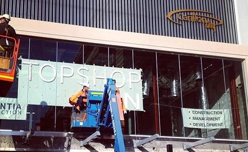 Topshop closer to Perth opening