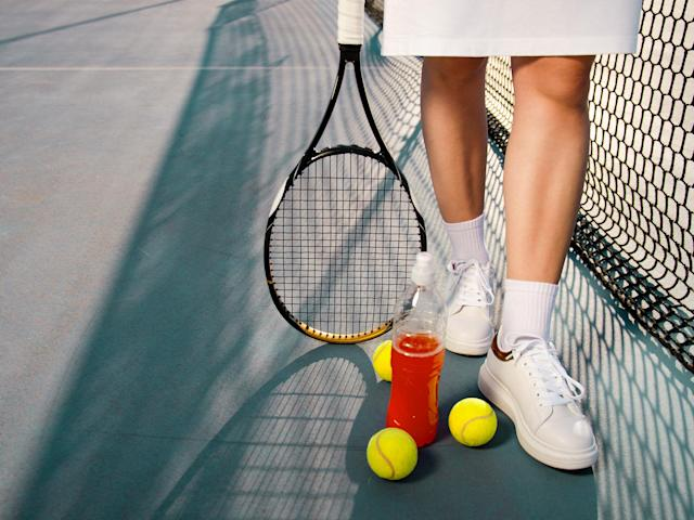 Game, set, match with these must-haves for playing tennis at home: iStock