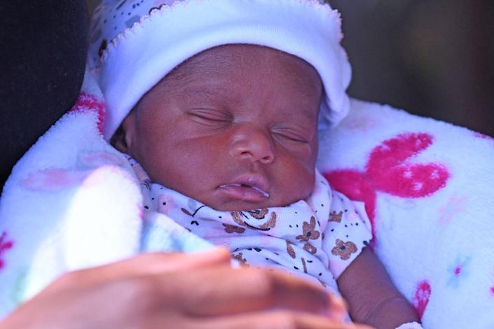 Emrie Haynes was born at 2:43 p.m. on July 3, nearly three weeks before her due date.