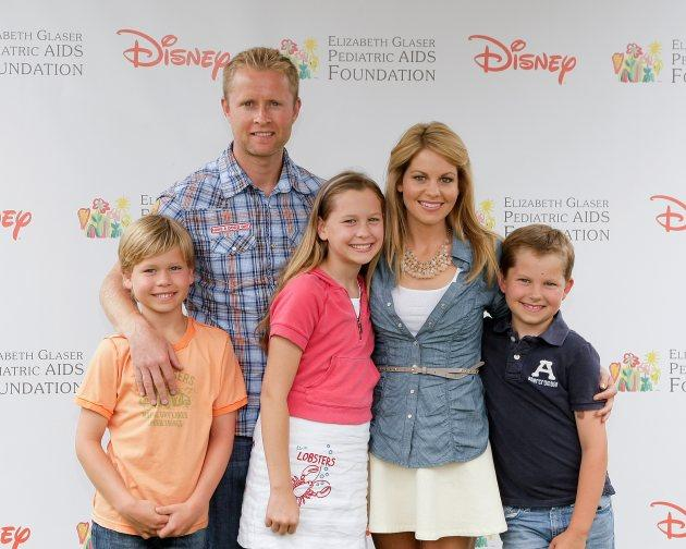 Candace Cameron Bure, Valeri Bure and kids -- Getty Images