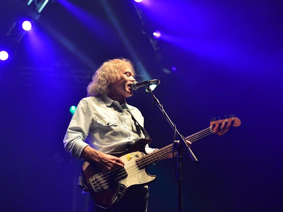 Lancaster performing live at Wembley Arena, London, in March 2013 (Shutterstock)