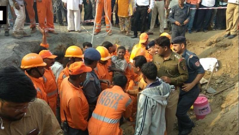 Haryana: 18-Month-Old Boy Trapped in 60-Feet Borewell in Hisar Rescued by Army, NDRF After 47-Hour Operation