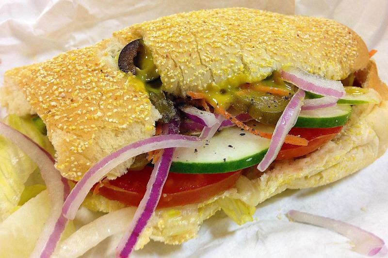 Nothing sub standard: The veggie delite sub at Subway (Ceasar Oleksy/Pexels)