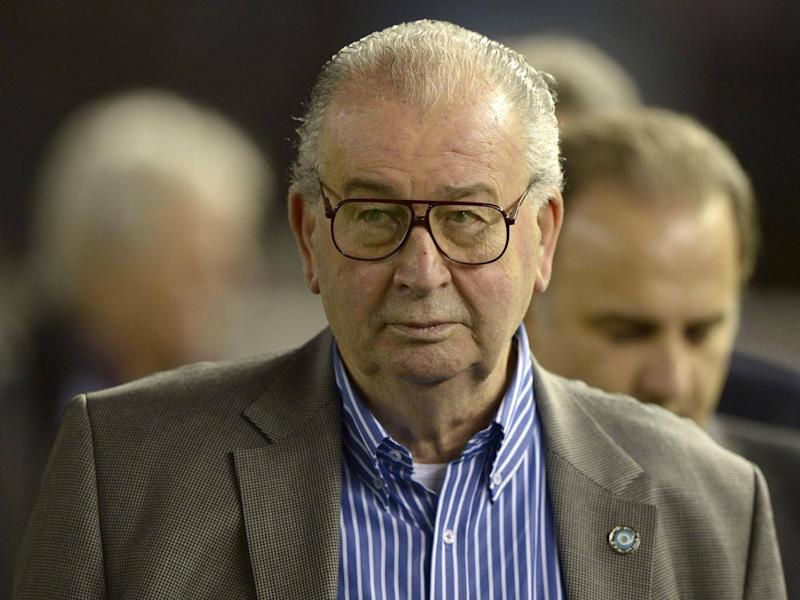 Julio Grondona, now deceased, embezzled millions of dollars from his role at Fifa (Getty Images)
