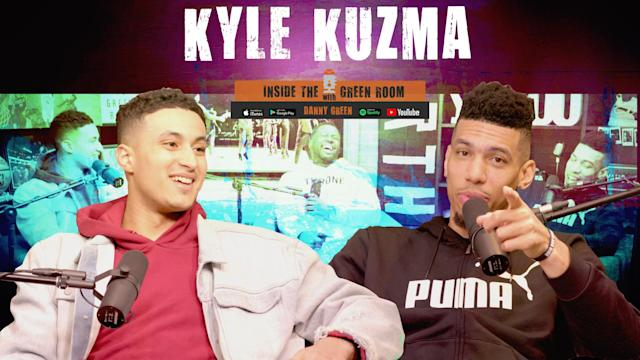 Los Angeles Lakers forward Kyle Kuzma joined Inside the Green Room