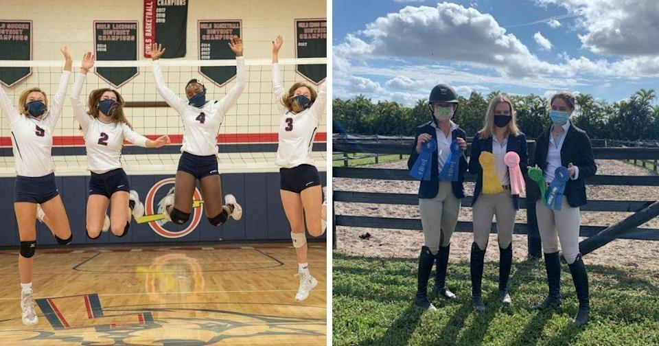 The school offers a variety of programs and has an equestrian team. (Photos courtesy of Oxbridge Academy /Instagram)
