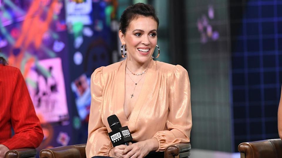 Alyssa Milano shares how she felt empowered through her character, Coralee, in Netflix's new show <em>Insatiable</em>. (Photo: Getty)