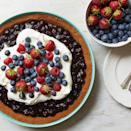 """We can't figure out what we like most about this pie: The homemade whipped filling, the nostalgic graham-cracker crust, or all those juicy berries. <a href=""""https://www.epicurious.com/recipes/food/views/red-white-and-blueberry-pie-51241610?mbid=synd_yahoo_rss"""" rel=""""nofollow noopener"""" target=""""_blank"""" data-ylk=""""slk:See recipe."""" class=""""link rapid-noclick-resp"""">See recipe.</a>"""