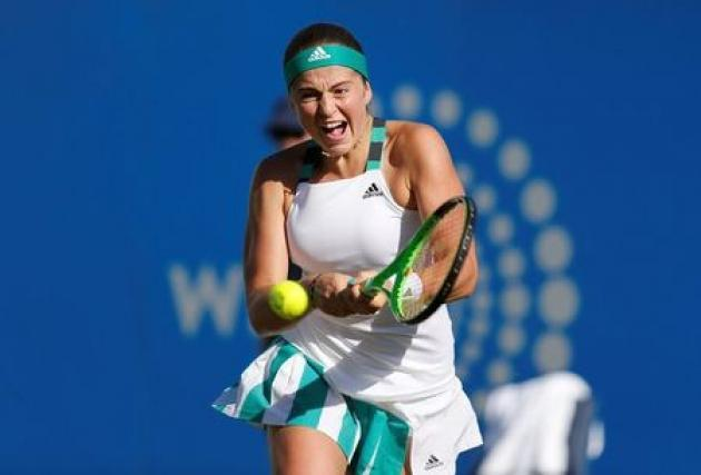 Ostapenko wins first match after French Open triumph