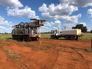 Drill rig mobilised to Sunrise Project site has commenced drilling