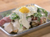 """<p>Since Guy is (both figuratively and literally) the tastemaker of the show, there are a few ingredients that will automatically be on the chopping block. He avoid dishes with <a href=""""https://people.com/food/guy-fieri-secrets-from-set-triple-d/"""" rel=""""nofollow noopener"""" target=""""_blank"""" data-ylk=""""slk:liver and eggs"""" class=""""link rapid-noclick-resp"""">liver and eggs</a>, hence why they're rarely on the show.</p>"""
