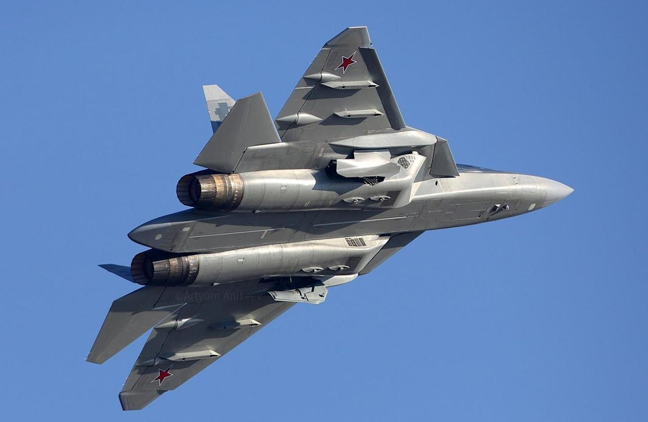 Russia's New Missile Could Give the Su-57 Stealth Fighter Its Teeth