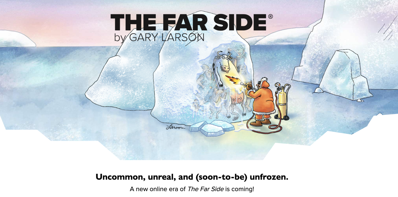 Gary Larson may be bringing back 'The Far Side' and Twitter is thrilled: 'Oh please, oh please'