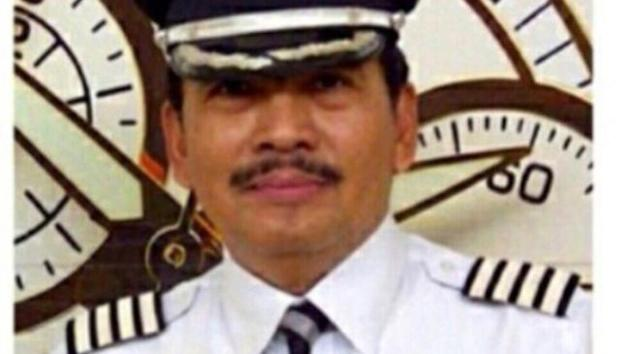 Captain Irianto, the pilot on board the missing AirAsia flight QZ8501, in a picture uploaded by his daughter Angela to Path. (Photo: Tribune News)