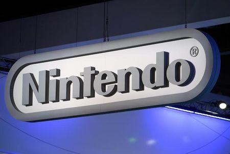 Nintendo signage at the company's booth at the 2014 Electronic Entertainment Expo, known as E3, in Los Angeles
