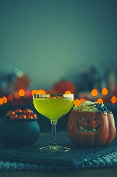 PHOTO: In this undated file photo, vibrant colored drinks are shown at a Halloween party. (Getty Images, FILE)