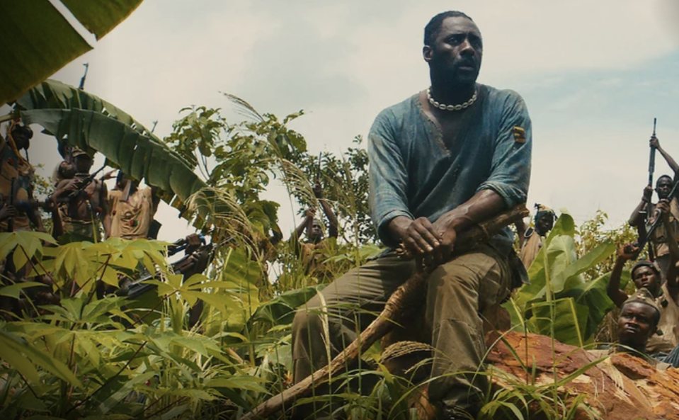 "<p>This 2015 war drama earned Idris Elba a SAG award for his portrayal of a vicious West African warlord who takes a young boy under his wing, recruiting him into an army of child soldiers.<br></p><p><a class=""link rapid-noclick-resp"" href=""https://www.netflix.com/title/80044545"" rel=""nofollow noopener"" target=""_blank"" data-ylk=""slk:Watch It Now"">Watch It Now</a></p>"