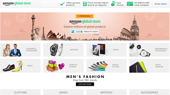 Amazon makes it easier for Indians to buy international ...