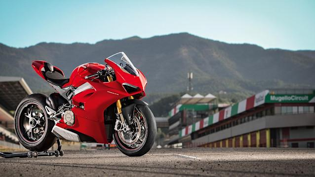 The 2018 Panigale V4 S (Credit: Ducati)