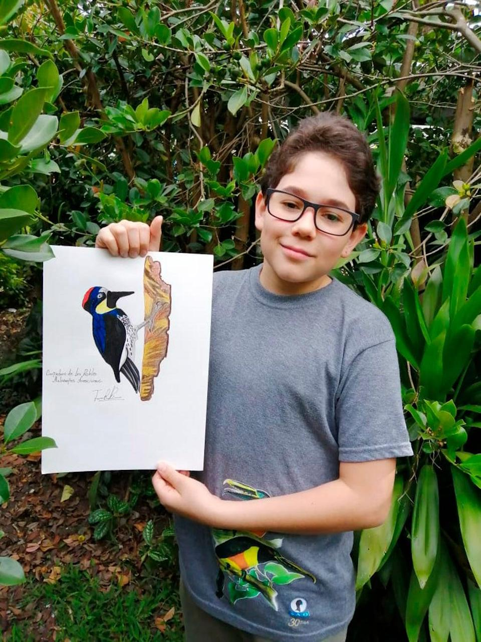 One Good Thing-Colombia-Teen Birder (ASSOCIATED PRESS)