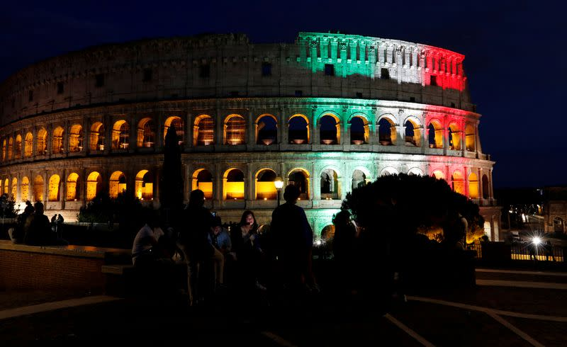 FILE PHOTO: The Colosseum in Rome, Italy