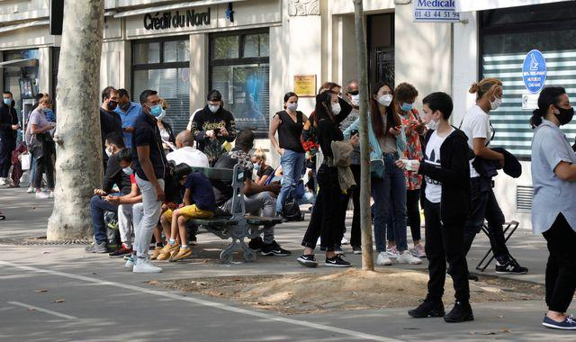 Coronavirus: France reports highest number of daily COVID cases since pandemic began