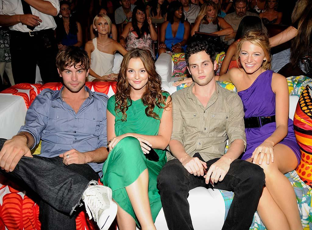 """Gossip Girl's"" Chace Crawford, Leighton Meester, Penn Badgley, and Blake Lively were propelled to fame by their hit CW series about spoiled Upper East Siders. K Mazur/TCA/<a href=""http://www.wireimage.com"" target=""new"">WireImage.com</a> - August 3, 2008"