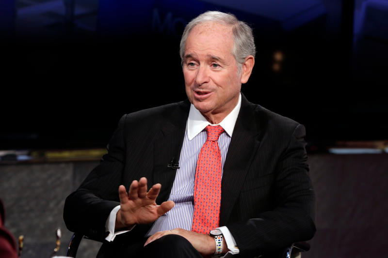 The Blackstone Group Chairman & CEO Stephen A. Schwarzman. (AP Photo/Richard Drew)