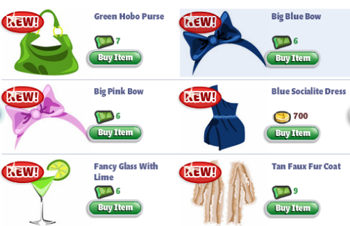 yoville luxury clothes