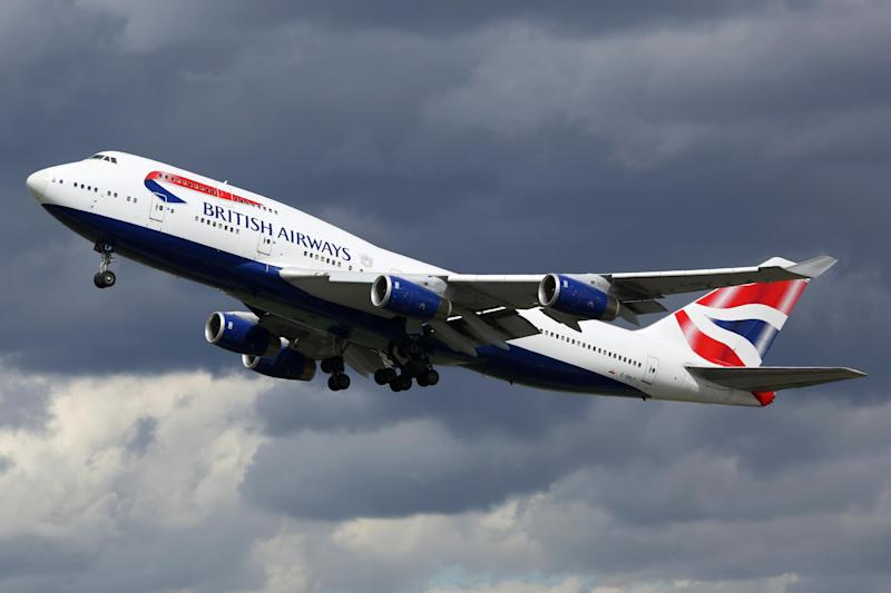 A BA flight was disrupted by a violent passenger: istock