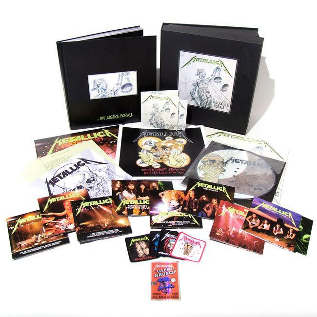 <p>This limited-edition deluxe numbered box includes the metal gods' breakthrough album, remastered on 180-gram double-LP and CD, three live LPs, a picture disc, and 11 CDs and four DVDs featuring unreleased content. </p>